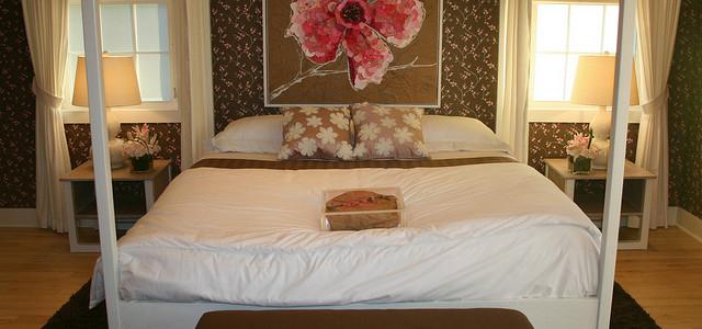 Erotyczna aranżacja sypialni