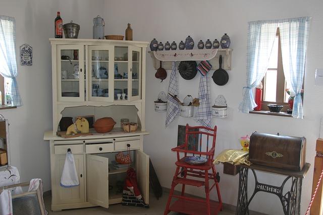Starodawna kuchnia babci