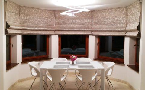 Eleganckie i funkcjonalne dekoracje okien