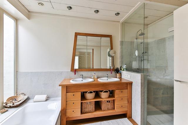 Łazienka z prysznicem typu walk in